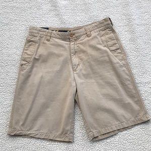 IZOD Men's Khaki Chino Shorts Size 34